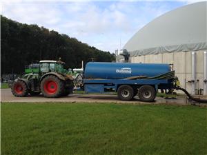 Septic tank emptying at a farm near Cromer